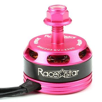 Racerstar Racing Edition 2205 BR2205 2300KV 2-4S Motor Sin escobillas Rosa Para 210 220 250 RC Drone FPV Carreras