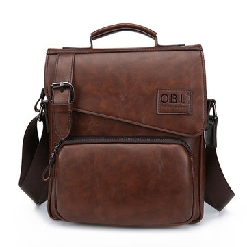 Vintage Business Casual Handbag Crossbody Bag For Men