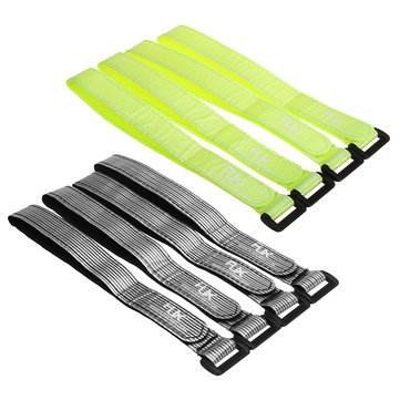 4pcs RJX 20mm Fiber High Strength Battery Straps 350-400mm for RC Multirotor FPV RC Model