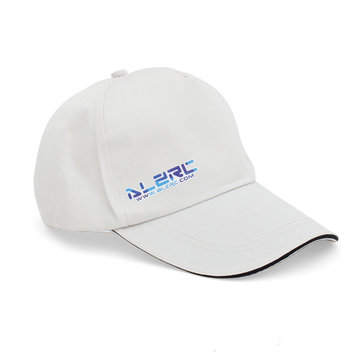 ALZRC Peaked Cap Hat For Playing RC Models White