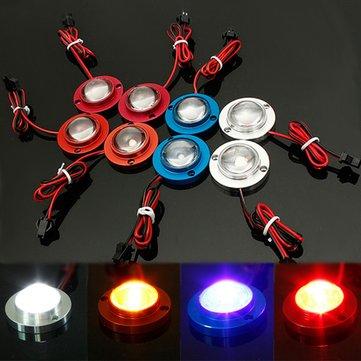 10W LED Strobe Flash Lights Emergency Brake Tail Lamp 12V 2PCS for Car Motor Bicycle