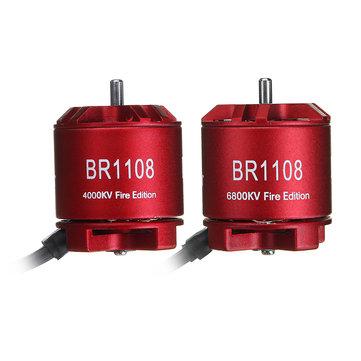 Racerstar 1108 BR1108 Fire Edition 4000KV 6800KV Brushless Motor For RC Drone FPV Racing Multi Rotor