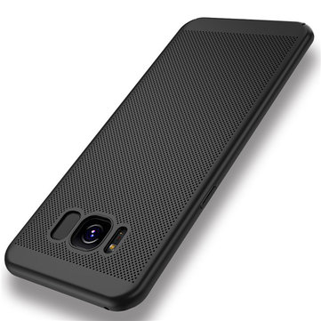 Mesh Dissipating Heat Anti Fingerprint PC Case For Samsung S8 Plus