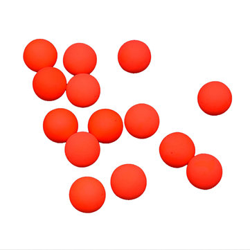 LEO 100pcs EPS Foam Buoyancy Ball DIY Red/Yellow 5-271g Fishing Lure Float Balls Tackle