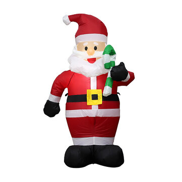 1.2M Christmas Inflatable Toys Santa Xmas Decoration Outdoor Garden Lights