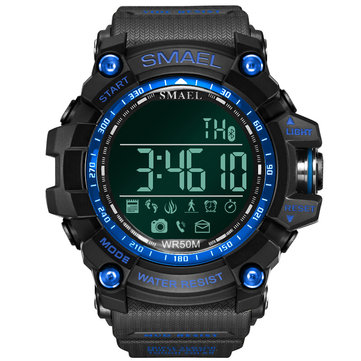 SMAEL LY01 Military Style bluetooth Watch Waterproof Male Sport Wrist Watch