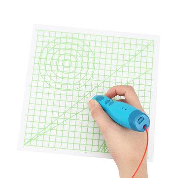 Outils de dessin de tapis de conception de panneau de copie de graphiques de base de 220 * 220 * 0.5mm pour la partie de stylo d'impression 3D