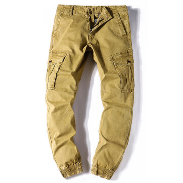 Men's Loose Multi-pocket Casual Pants