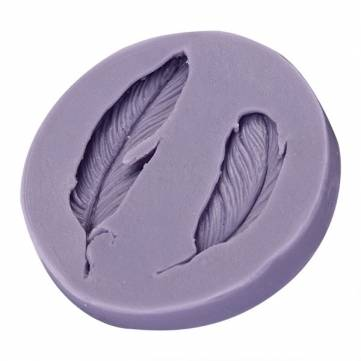Silicone Fondant Mold 3D Feathers Fondant Cake Mould Silicone Fondant Mould Decoration Chocolate