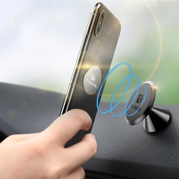 FLOVEME Strong Magnetic 360 Degree Rotation Car Mount Dashboard Phone Holder for Samsung Xiaomi
