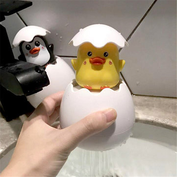 Children Bath Shower Toys Spraying Water Duck Penguim Eggs Cartoon Cute Bathroom Showering Toy