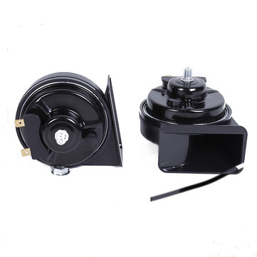 A Pair Of Car Speaker 12V Waterproof High Power Tweeter Car Snail Speakers