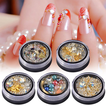 3D Nail Art Rhinestones Crystal Diamonds
