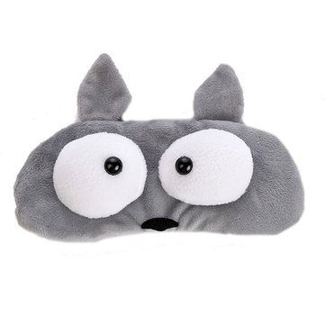 Fashion Version Of Cute Cartoon Plush sleep Eye Face Mask Rest Shading Pad