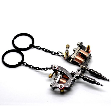 EDC Zinc Alloy Key Chain Fashion Machine Shape Key Ring Reduce Lose Cool EDC Gadget