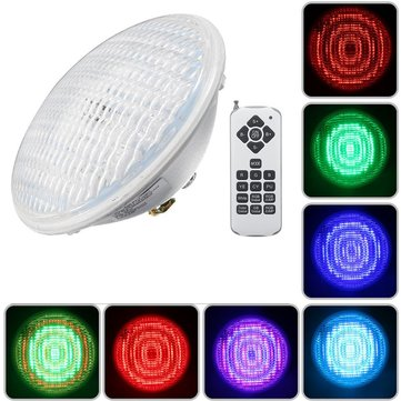18W Par56 RGB LED Underwater Waterproof Swimming Pool Light IP68 Remote Control Atmostphere Light