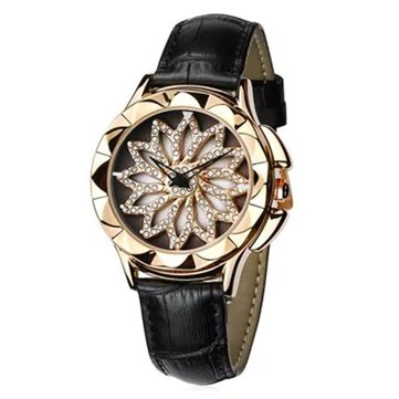 Rotation Diamond Ladies Wrist Watch