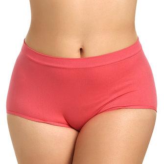 Mujer Cómodo Panty de cintura alta Adelgazamiento Braguitas