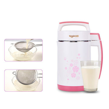 2L 800W Soy Milk Maker Soybean Cereal Soup Vegetable Juicer Rice Paste Machine Bean Blender