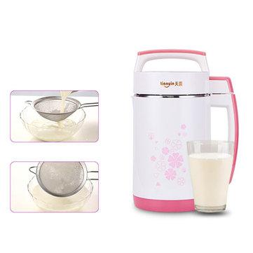 2L 800W Soy Milk Maker Soybean Cereal Soup Vegetable Juicer Rice Paste Machine Bean Blender