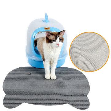 고양이 쓰레기 트레이 매트 에바 두 레이어 새끼 고양이 산란 자동차 바닥 매트