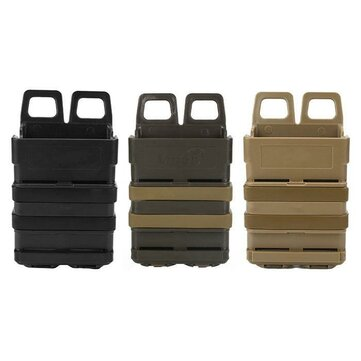 Hunting Tactical Fast Mag Attach Belt Magazine Pouch 5.56 Molle Holster