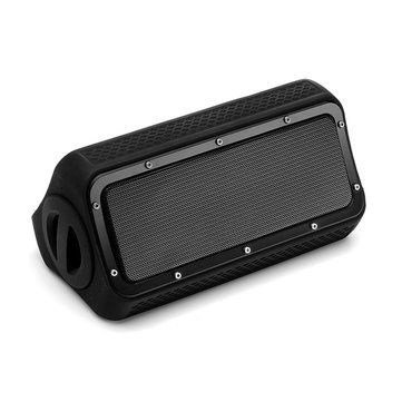 OURSHAR 20W TWS Outdoor Rock Ridge Bluetooth Speaker With Mic Power Bank IPX5 Waterproof Shockproof
