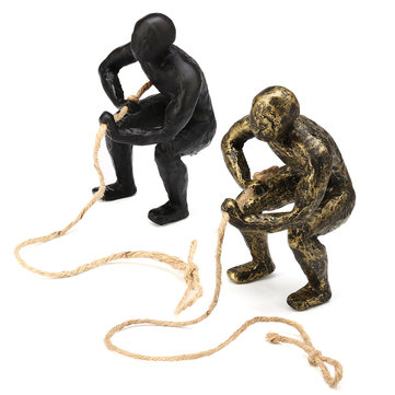 Climbing Man Wall Art Hanging Decorations Climber Gift Vintage Retro Rope Gadget