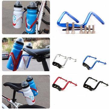 BIKIGHT Asiento de bicicleta Post Bottle Rack Converter Ciclismo Bike Saddle Back Doble Water Bottle Holder