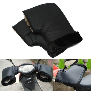 Waterproof Motorcycle Winter Warm Protective Handlebar Muffs Gloves