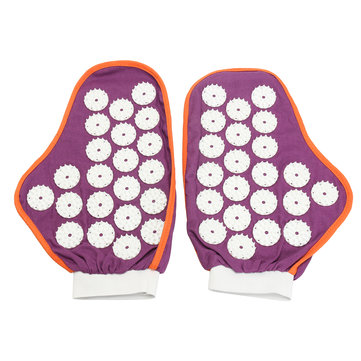 Gloves Acupressure Trigger Point Relax Stress Pain Relief Massage Muscle Release