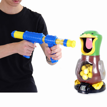 Amusement Park Toy Shooting Trainning Novelties Toys Kid Funny Target Toy Gun With Soft Bul lets