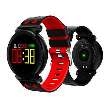 K2 OLED HD Color Display Swimming Long Stand-by Time Blood Pressure Blood Oxygen Monitor Smart Bluetooth Watch