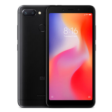 Xiaomi Redmi 6 Global Version 5.45 inch 3GB RAM 64GB ROM Helio P22 Octa core 4G Smartphone