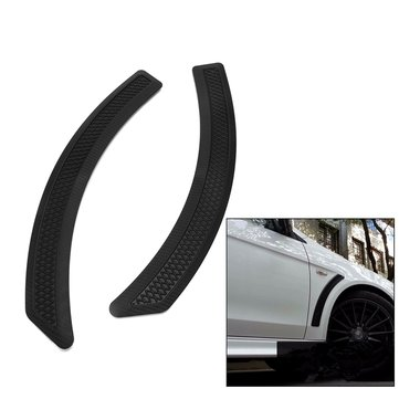 Carbon Fiber Look Front Mudguard Side Vent Cover for Mitsubishi Lancer 2008-2015