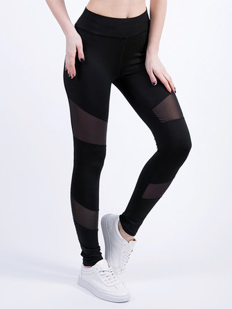 Casual Women Sport Running High Waist Long Pants