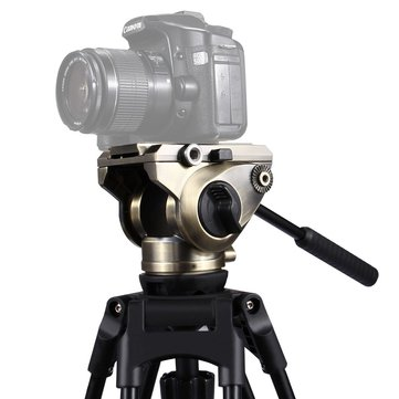 PULUZ PU3501 Video Tripod Head Quick Release Sliding Plate for DSLR SLR Camera Monopod Slider