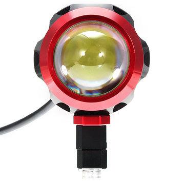 5W 5-80V USB Charging LED Lamp Waterproof Spot Lightt For Motorcycle Scooter Bicycle