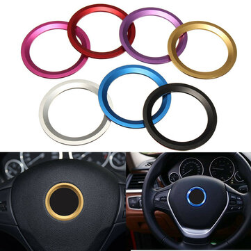 Car Steel Ring Wheel Center Decoration Ring Cover Fit for BMW 1 3 4 5 7 Series