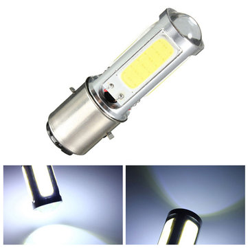 BA20D H6 White COB LED Car Headlight Bulb Fog Light DRL Bulb