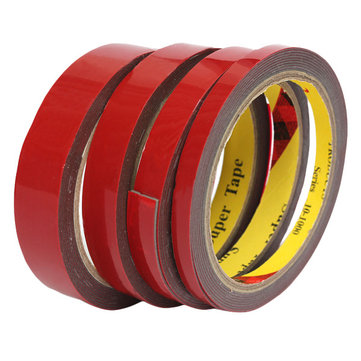 Strong Permanent 3Meter Double Sided Super Sticky Tape Roll For Vehicle