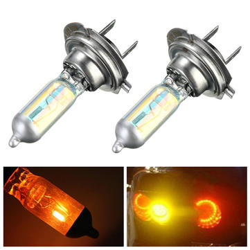 Car Super Bright H7 Xenon Halogen Bulbs Lamp Front Headlight Lamp