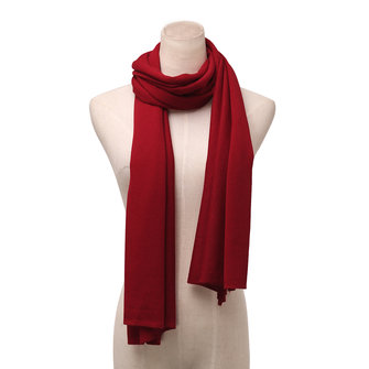 Women Ladies Long Solid Color Wool Knitted Scarf Multicolor Optional Shawl