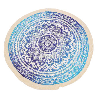 150CM Indian Round Mandala Tapestry Round Die Throw Blanket Hippie Praia Toalha Yoga Mat