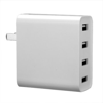 Original Xiaomi 4 USB Ports 7A US Plug Wall Charger For Cell Phone Tablet Camera Powerbank
