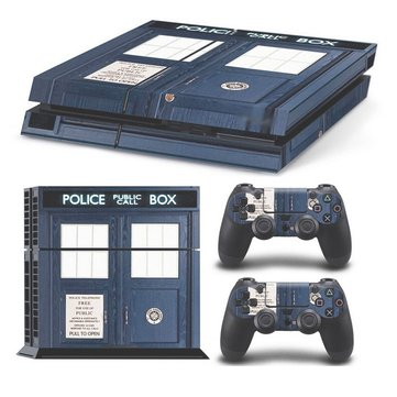 Police Station Skin Stickers Controllers For PS4 Gifts For Friend