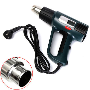GJ-8020 LCD 2000W Heat Gun Hot Air Gun Welding Tools with Noozle
