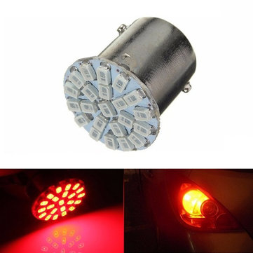 Red BA15S P21W 1156 22 LED SMD Tail Side Light Side Indicator Light Bulb