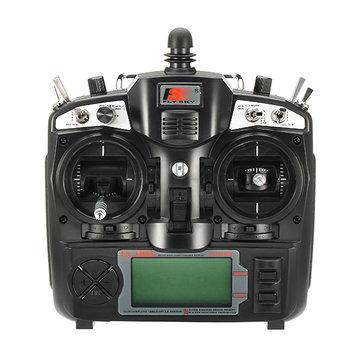 FlySky FS-TH9X 2.4G 9CH Transmisor con FS-R9B RM002 Modo 2