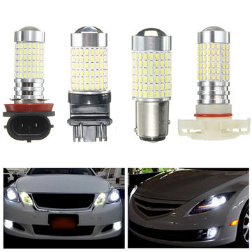 H16/H11/3157/1157 144SMD White Extreme Bright LED Fog DRL Lights Bulb